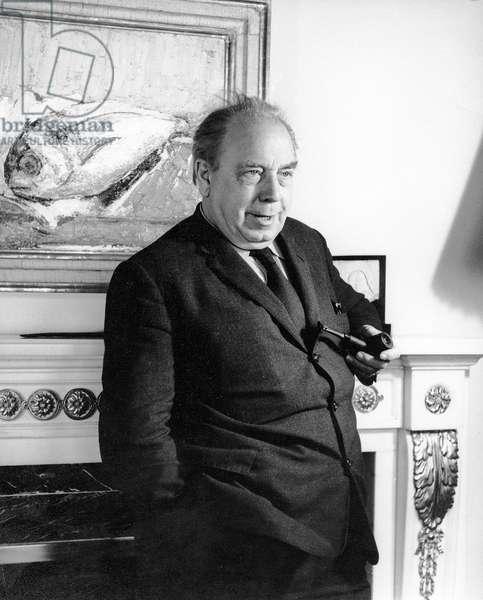 J.B. Priestley, 1961 (photo)