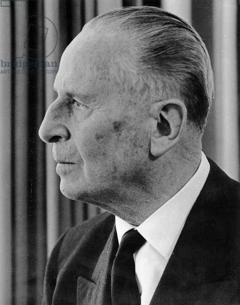 Sir Oswald Mosley, 1967 (photo)