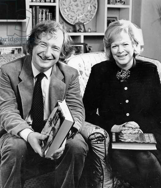 Humphrey Carpenter and Antonia Fraser, 1989 (photo)
