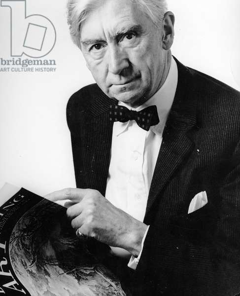 Herbert Read, 1955 (photo)