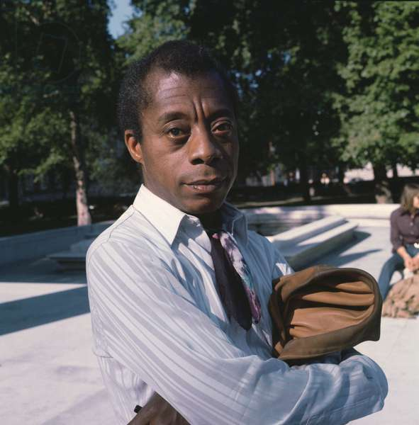 James Baldwin, 1971 (photo)