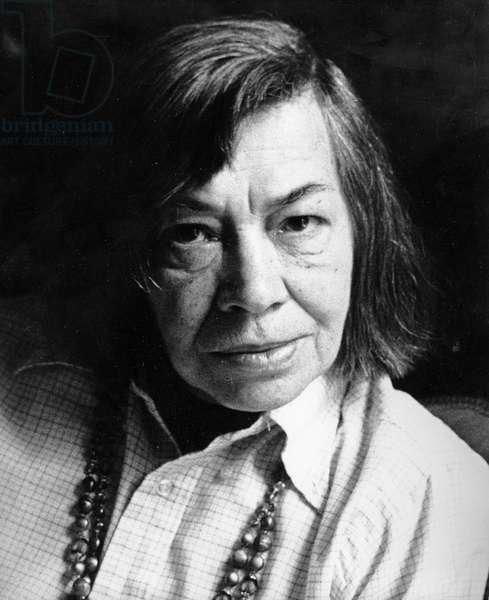 Patricia Highsmith, 1986 (photo)