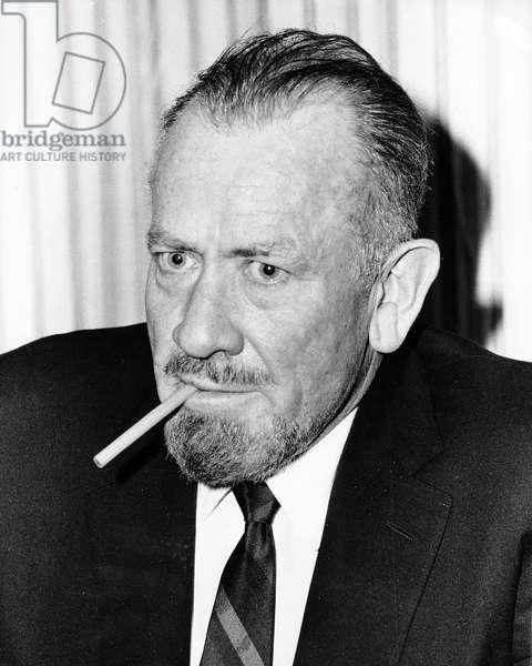 John Steinbeck, 1965 (photo)