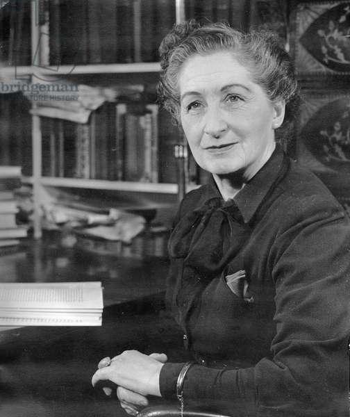 Vera Brittain, 1955 (photo)