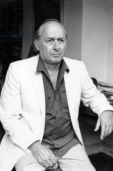J.G. Ballard, 1984 (photo)
