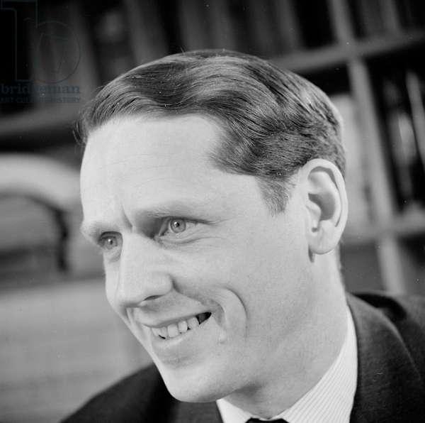 Michael Alison, 1963 (b/w photo)