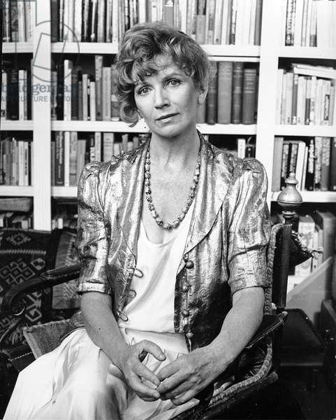 Edna O' Brien, 1987 (photo)
