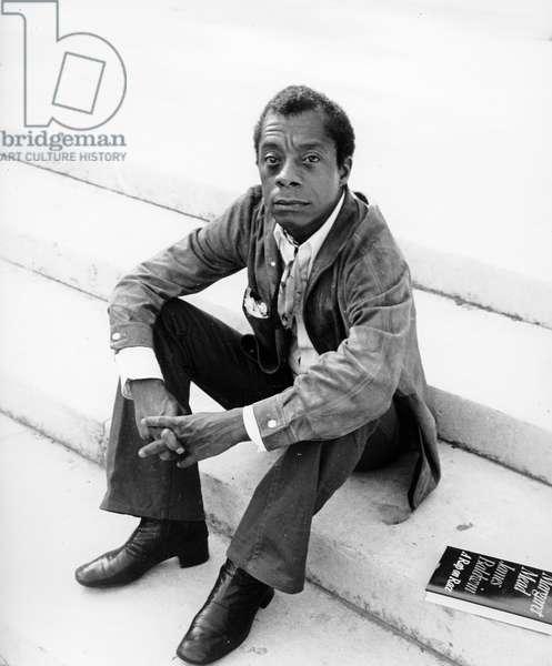James Baldwin, 1977 (photo)
