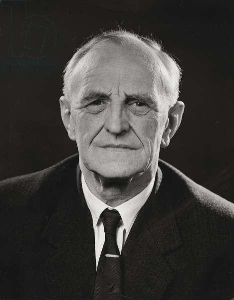 Donald Winnicott, July 1963 (b/w photo)
