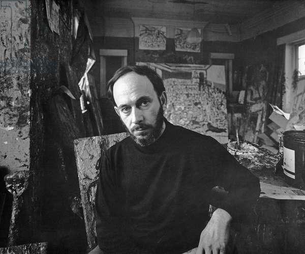Leon Kossoff, 1972 (photo)