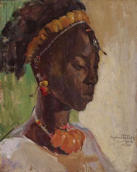 Portrait of a Lady, 1934 (oil on board)