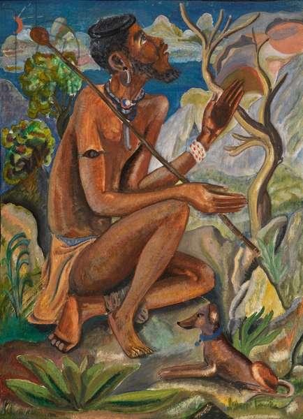 The Thinker, c.1949 (oil on board)