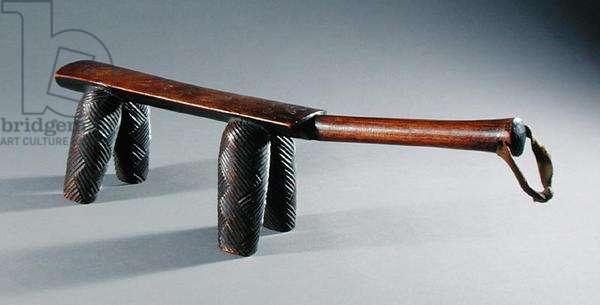 Headrest (wood)
