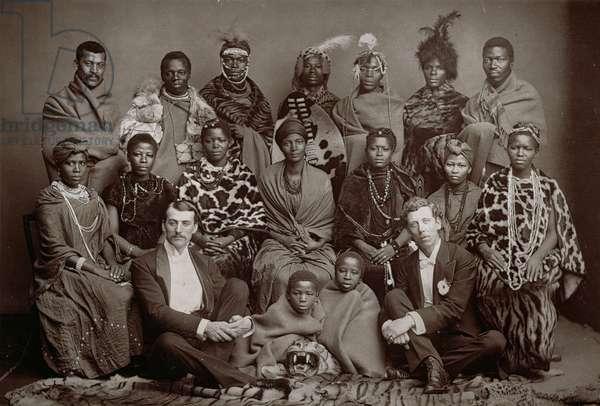 The African Native Choir, 1891 (woodburytype)