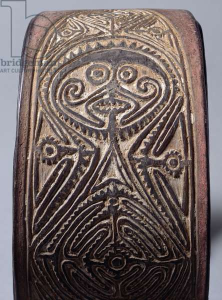 Gope board, Sepik, c.1900 (wood)