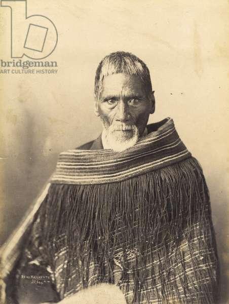 Rewi Maniapoto, c.1890 (albumen print)