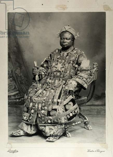 Tegumada Ademola, England, 1904 (gelatin silver print)