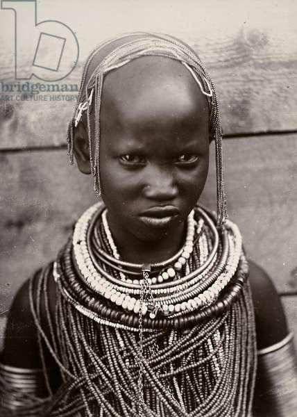 Chief's daughter, Mombasa, Uganda (gelatin silver print)