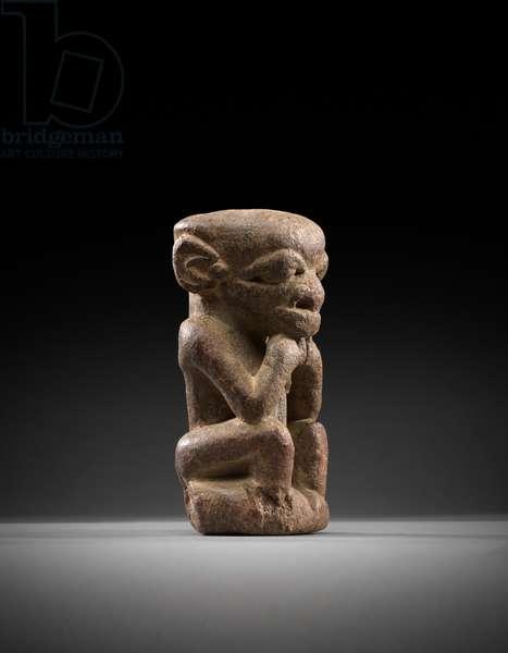 Nomoli figure, southern Sierra Leone (stone)
