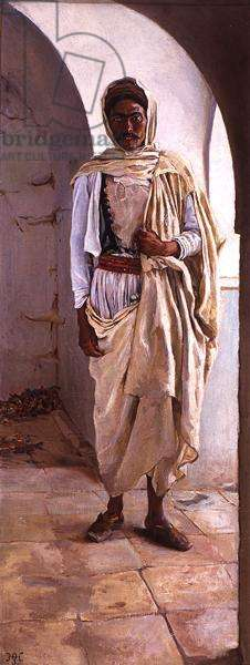 A Berber of Southern Tunis, c.1898 (oil on canvas)