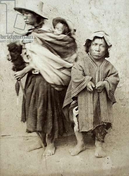 Tipos de Cajamarca (albumen print)