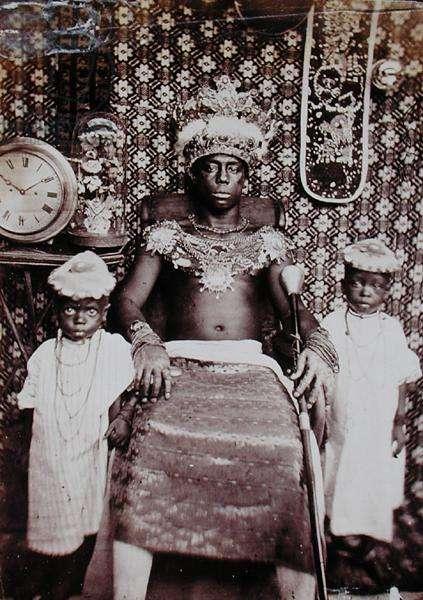 Tribal Chieftain (b/w photo)