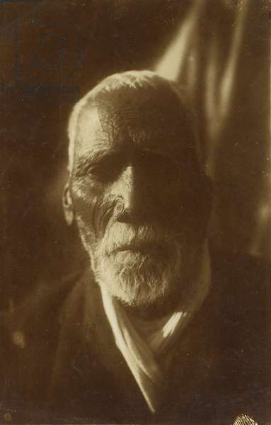 Portrait, c.1910 (silver gelatin print)