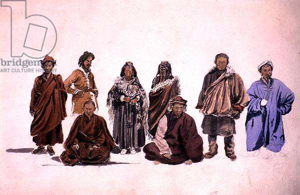 Himalayans, 1861 (w/c on paper)