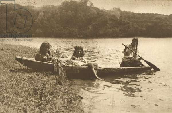 Waka, Lake Rotoiti, c.1915 (silver gelatin print)