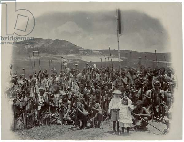 Wild Africans Tamed by His Name, c.1895 (gelatin silver print)