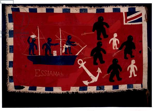 Essiamah Fante flag, early 20th century (cotton)