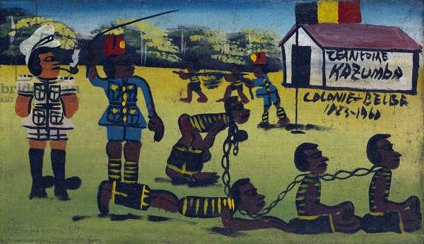 Kazumba Territory, Belgian Colony, 1885-1960, c.1960 (oil on canvas)