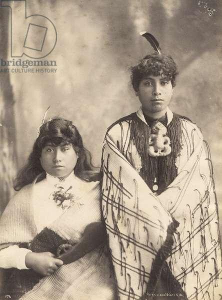 Susan and Ngapuia, c.1900 (albumen print)