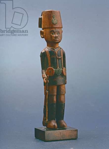 An Asakari figure, Kamba, Kenya, c.1920 (wood)