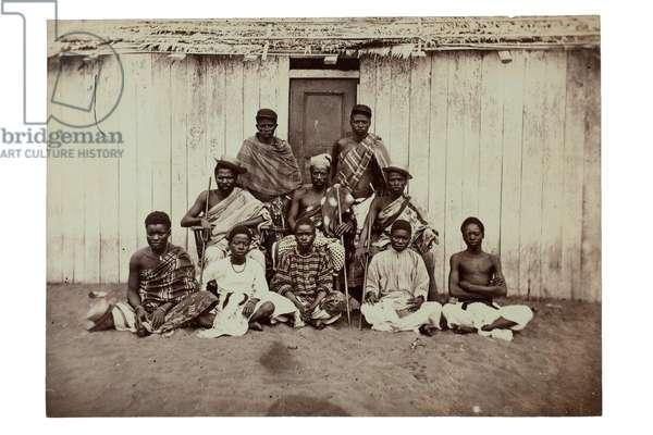 An African king (albumen print)