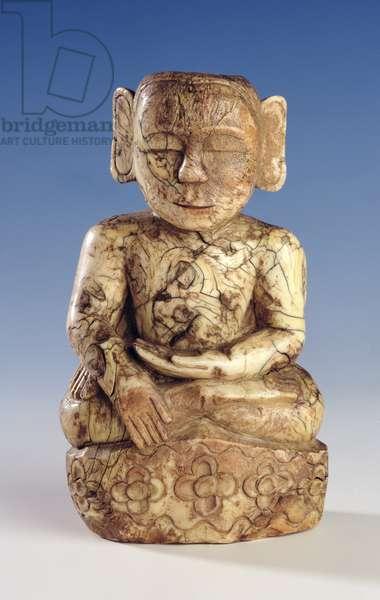 Seated Buddha (ivory)