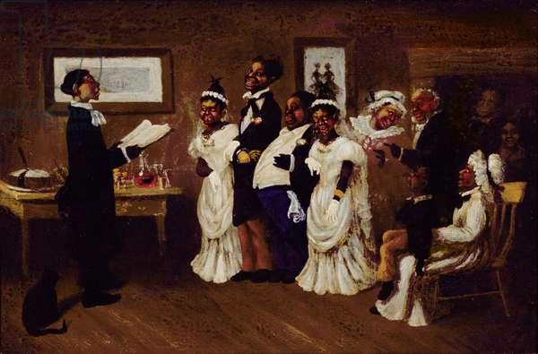 The Wedding, c.1850 (oil on canvas)