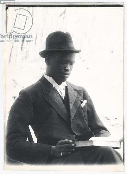 Sekhome, Khama's son, c.1910 (platinum print)