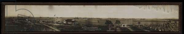 Atlantic Fleet & Deerpoint Camp Jan 1912, US Naval Station Guantanamo Bay, Cuba (gelatin silver print)