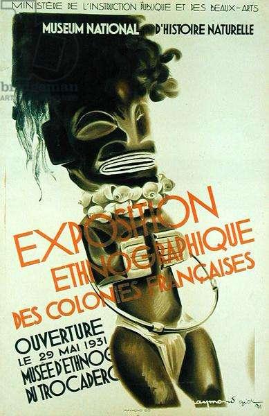 Exposition Ethnographique des Colonies Francaises, 1931 (litho)