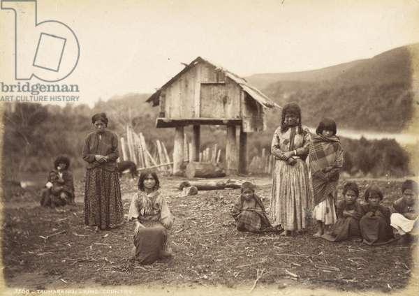 Taumaranui - King Country, 29th May 1885 (albumen print)
