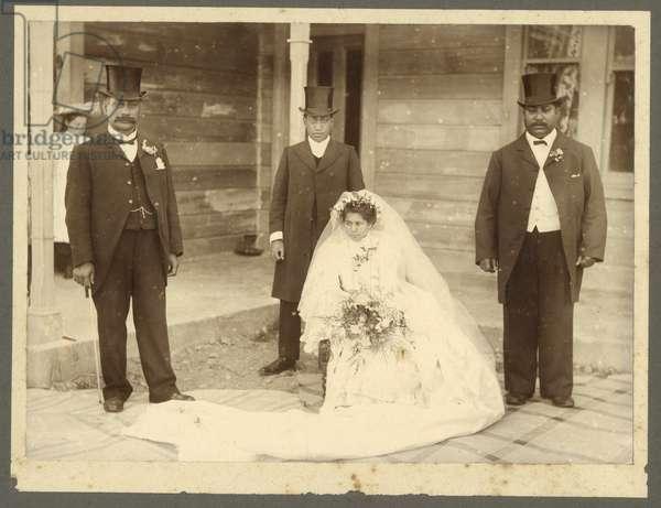 Wedding, c.1925 (silver gelatin print)
