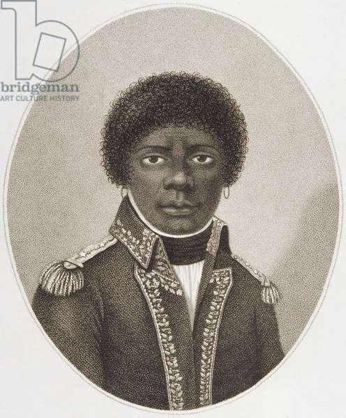 Tout Saint en General, ne fait pas miracle; se vend au cap, 1802 (engraving)