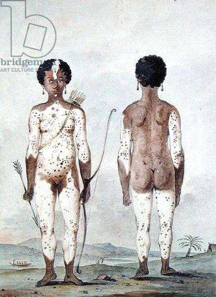 'Petite fille negre nee Lille St. Lucia', c.1795 (w/c on paper)