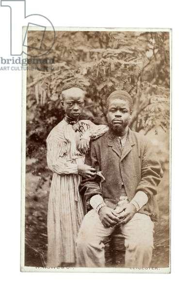 Couple, 1870s (albumen print)