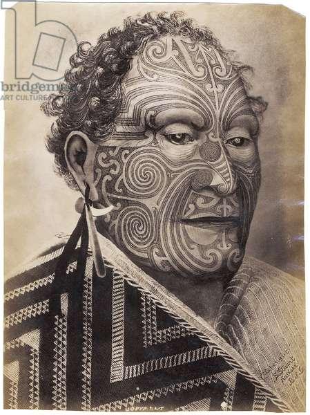 Tamati Waka Nene, c.1880 (albumen print)