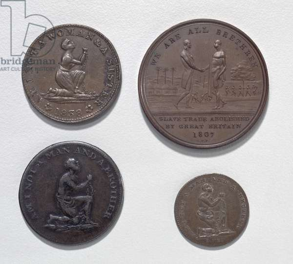 Anti-Slavery Coins and Medals (metal) (obverse) (for reverse see 120617)