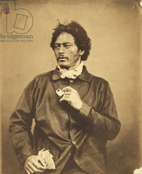 Portrait, c.1860 (albumen print)