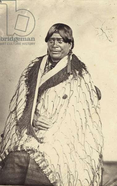Queen of Tairoa, c.1860 (albumen print)