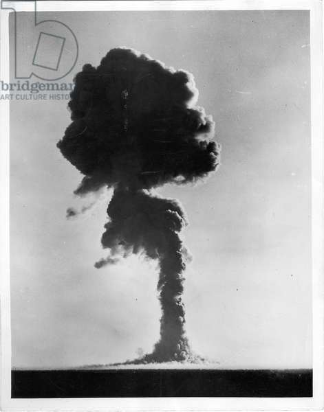 Britain's Second Atomic Weapon Exploded, 15 October 1953 (gelatin silver print)